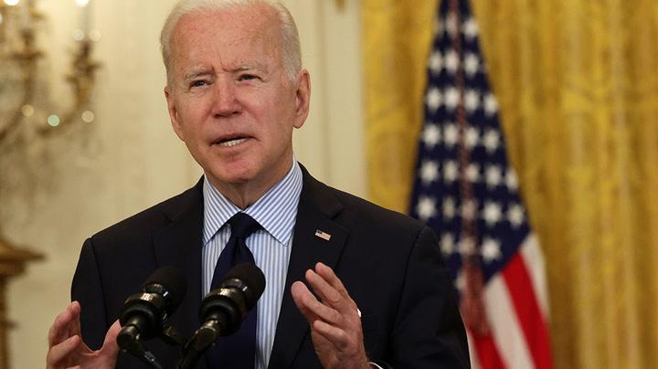 Watch live as Joe Biden speaks about Covid vaccine effort