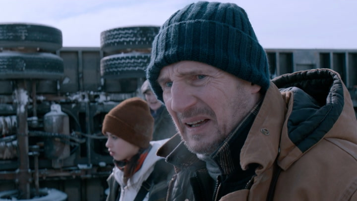 'The Ice Road' Clip: Tipped Over