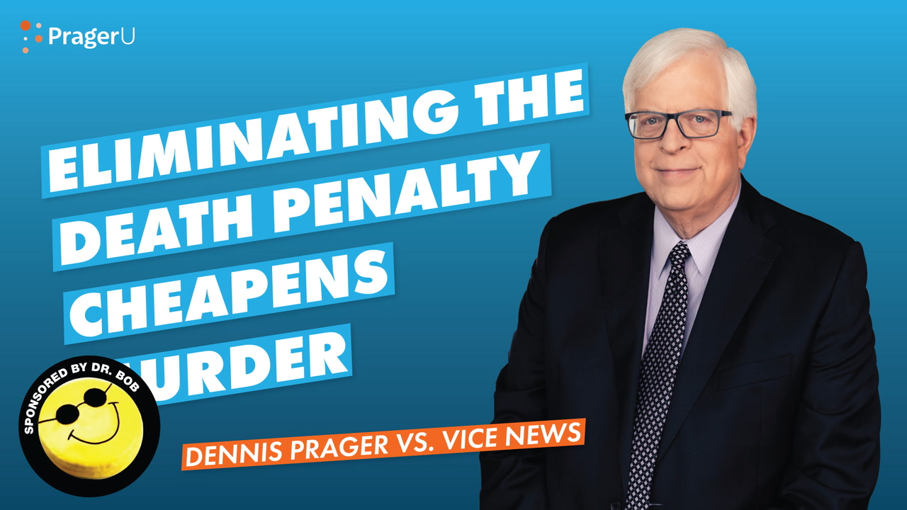 Eliminating the Death Penalty Cheapens Murder