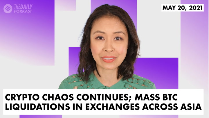 Crypto Chaos Continues; Mass BTC Liquidations in Exchanges Across Asia