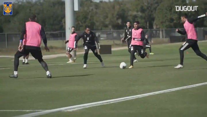 Tigres prepare for the 2020 CONCACAF Champions League Final