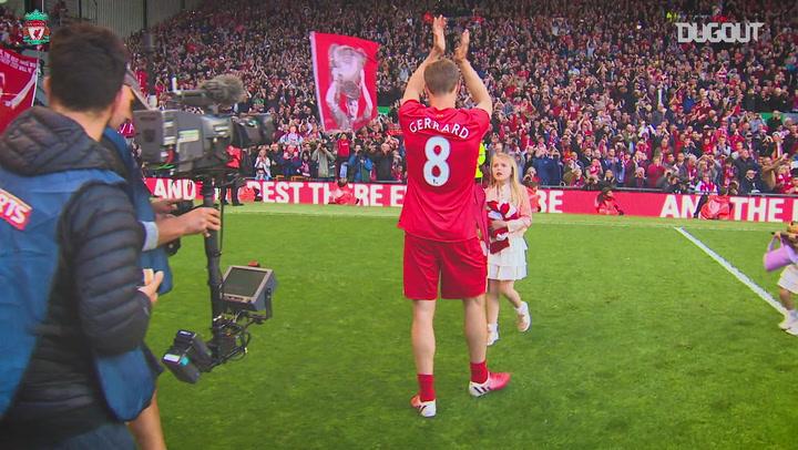 Steven Gerrard's Legendary Liverpool Career