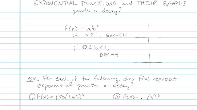 Exponential Functions and their Graphs - Problem 7