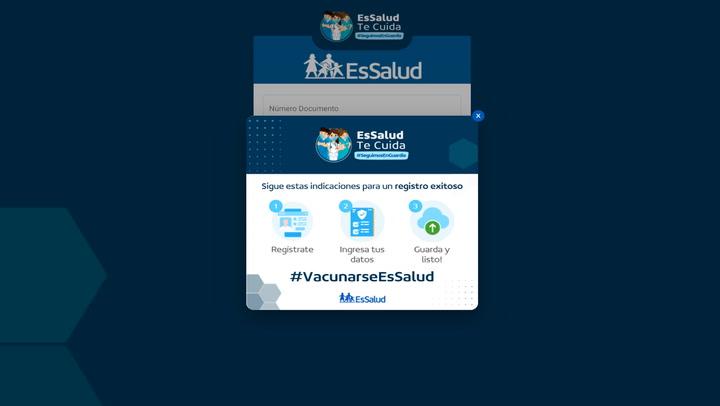 Vacuna COVID-19: EsSalud presenta su nueva plataforma de actualización de datos