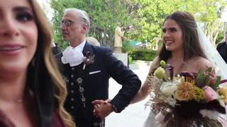 Boda en pandemia: hija del cantante mexicano Alejandro Fernández contrajo matrimonio