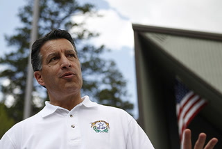 Gov. Sandoval wants to help flood-battered Mount Charleston neighborhood