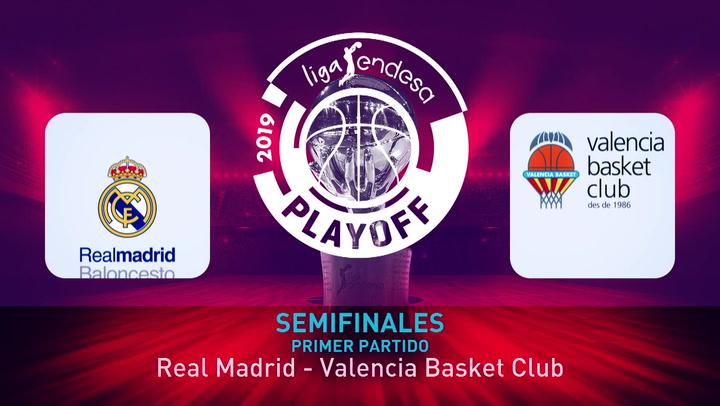 Liga Endesa: Real Madrid - Valencia Basket (94-72)