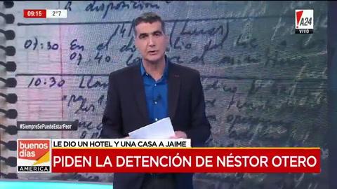 Ordenan detener a Néstor Otero, titular de la terminal de Retiro