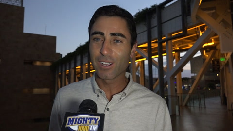 AJ Preller on trade with KC & if Brad Hand could be next
