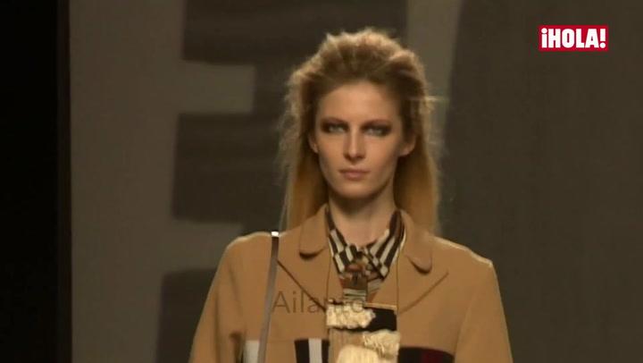Fashion Week Madrid otoño-invierno 2016-2017: Ailanto