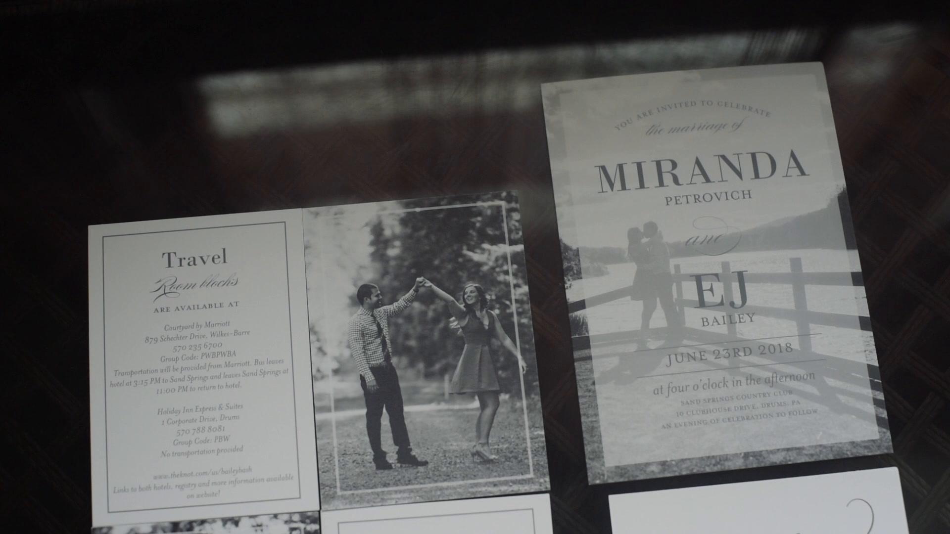 Miranda + E.J. | Drums, Pennsylvania | Sand Springs Country Club