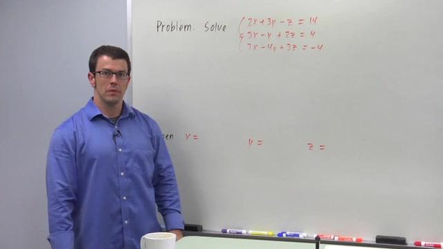 Cramer's Rule - Problem 2
