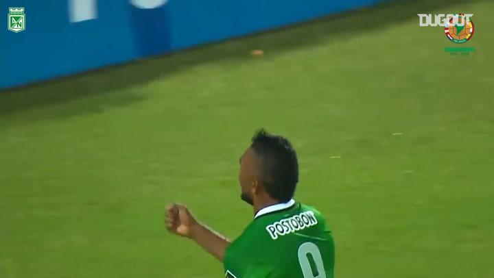 Miguel Borja's superb acrobatic goal