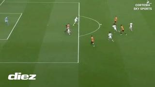 El VAR le invalida gol a Raúl Jiménez en la Premier League