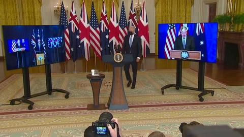 EEUU intenta apaciguar ira de Francia por pérdida de contratos de submarinos para Australia