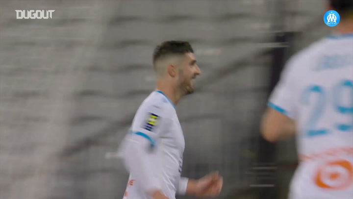 Arkadiusz Milik's first goal with Marseille