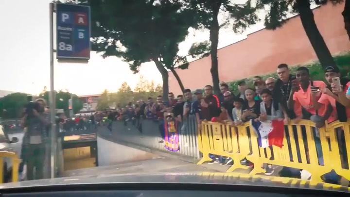Arthur Melo, nostálgico por volver a jugar con el Barça