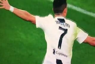 Cristiano Ronaldo anota el 1 - 0 de la Juventus ante el Genoa