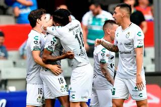 Santos derrota a domicilio al Cruz Azul y llega envalentonado para medirse al Marathón