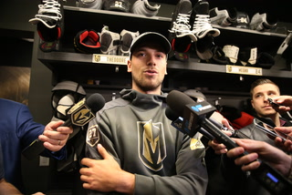 Shea Theodore discusses his cancer diagnosis.