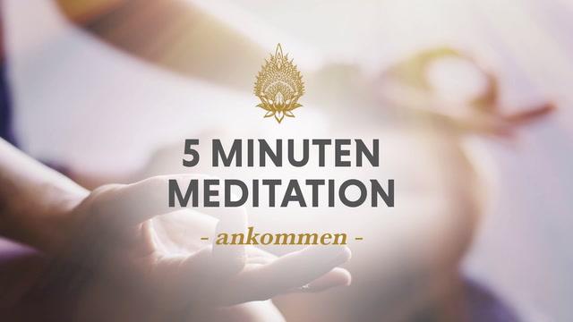 5 Minuten Meditation, Nr. 7