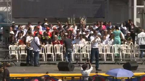 Guaidó convoca movilización nacional por ayuda humanitaria