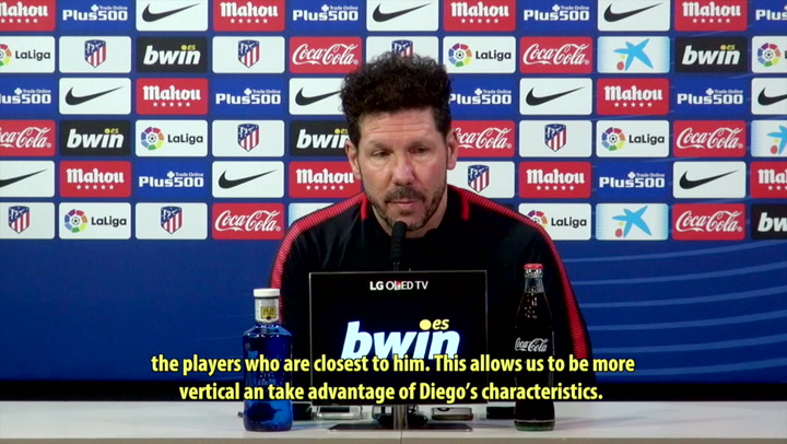 "Simeone: ""Tomorrow's match is an important one"""