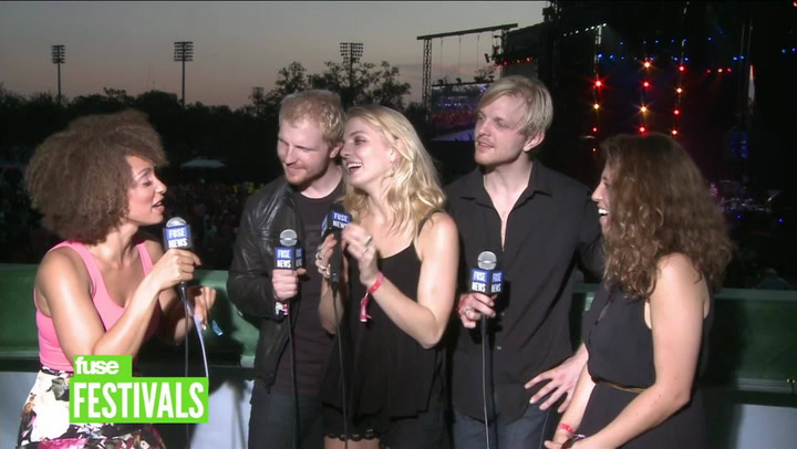 Delta Rae On Carry The Fire & Morning Comes Music Video (Voodoo 2012