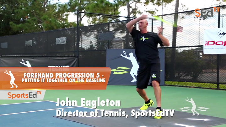 Forehand Progression 5 - Putting It Together On The Baseline