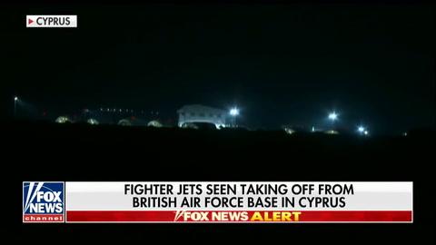 Así se vieron los bombardeos de Estados Unidos sobre Siria