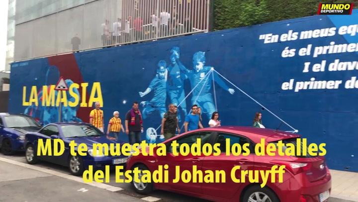 MD te muestra todos los detalles del Estadi Johan Cruyff