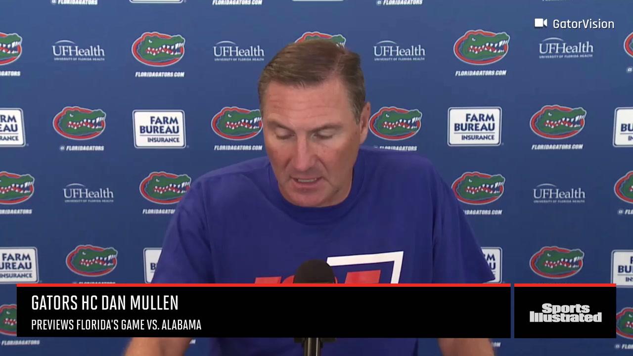 Dan Mullen Previews Alabama at Florida