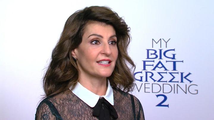 Nia Vardalos 'My Big Fat Greek Wedding 2' Interview
