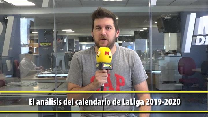 El análisis del calendario de LaLiga 2019-2020