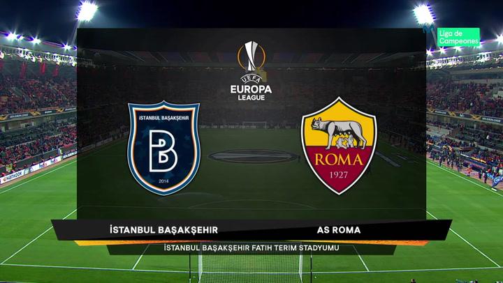 Europa League Resumen y Goles del Istanbul - Roma