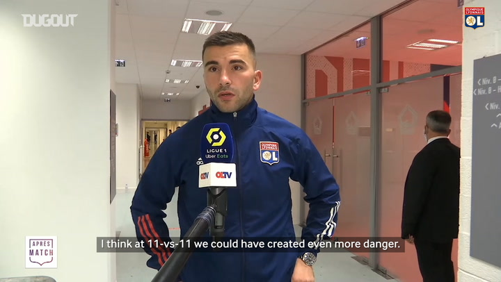 Anthony Lopes' post match reaction after Lille
