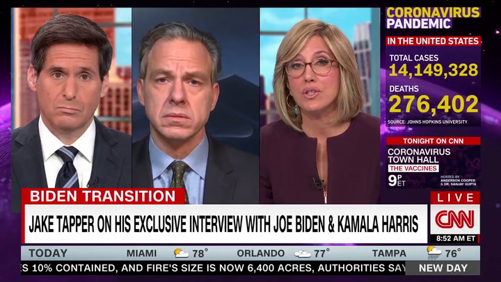 CNN's Tapper: Biden Is 'Rational Adult' -- Trump Spouts 'Bizarreness from a Different Planet'