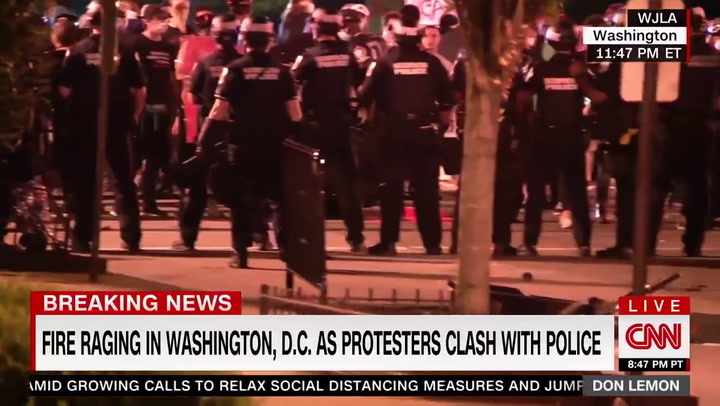 CNN's Lemon: Riots a 'Mechanism for Restructure in Our Country' -- 'No Other Alternative but to Exhibit This Behavior'