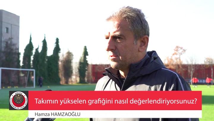 Hamza Hamzaoğlu: Fenerbahçe'yi yeneceğiz