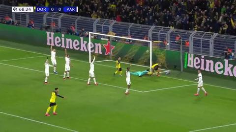 Noruego Haaland sigue intratable y le anotó dos goles al PSG de Keylor Navas