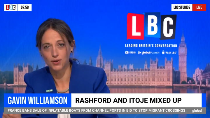Helen Whately 'doesn't know' if Gavin Williamson is racist or incompetent