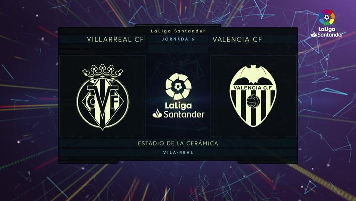 LaLiga Santander (Jornada 6): Villarreal 2-1 Valencia