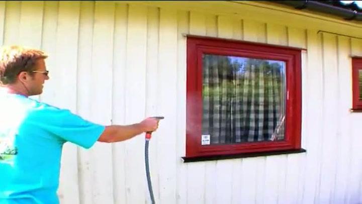 Hvordan vaske huset før du maler