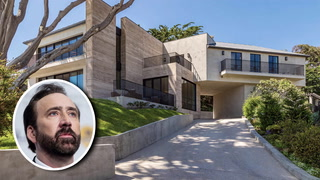 Nicolas Cage's Former Malibu Home Is Quite the 'National Treasure'