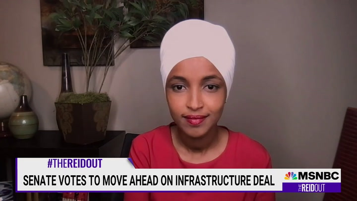 Omar: 'No Path' for Bipartisan Bill that's Not Moving 'Simultaneously with the Reconciliation Bill'