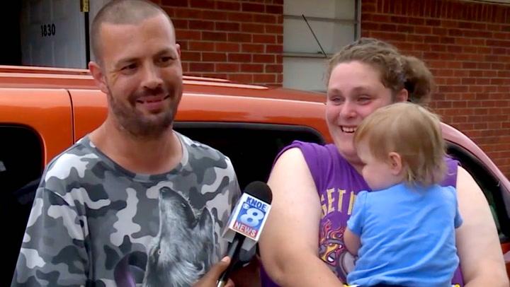 Fattig familie fikk utrolig gave av fremmed: – Jeg ville gråte