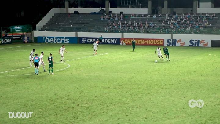 Goiás beat Palmeiras at Serrinha Stadium