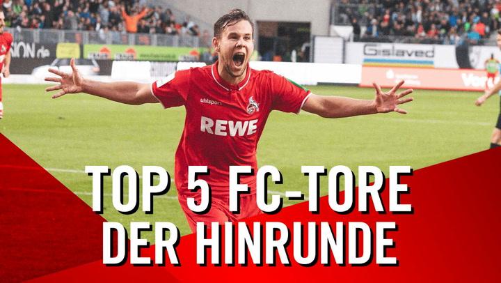 TOP 5 FC-Tore der Hinrunde