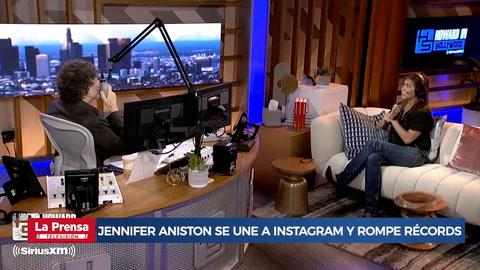 Jennifer Aniston se une a Instagram y rompe récords