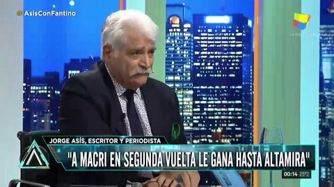 Asís vaticinó que hasta Altamira le puede ganar a Macri en un balotaje en 2019